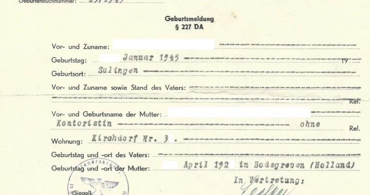 geburtsmeldung-geboorteregister